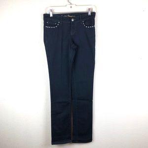 Cache | Studded Black Skinny Jeans